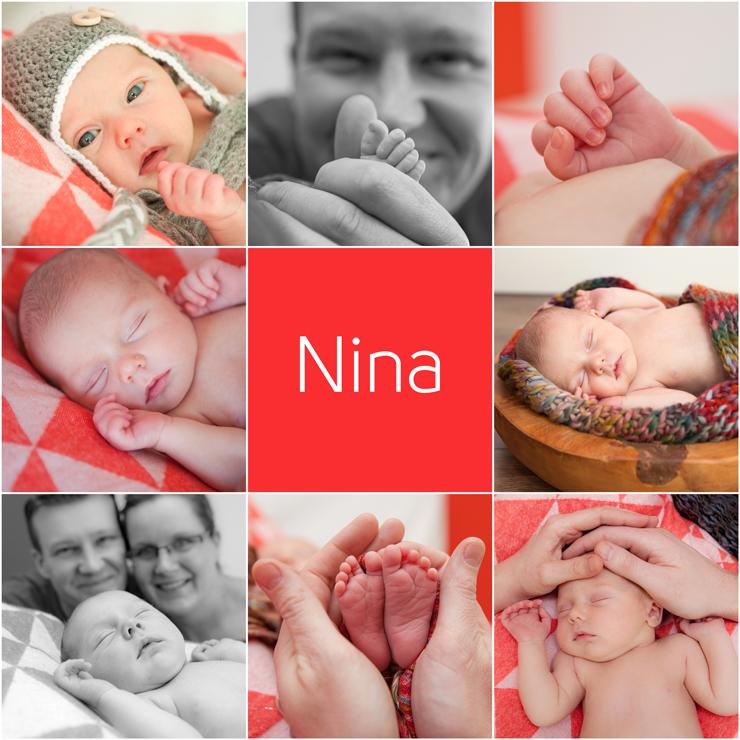 Collage Nina 40x40w